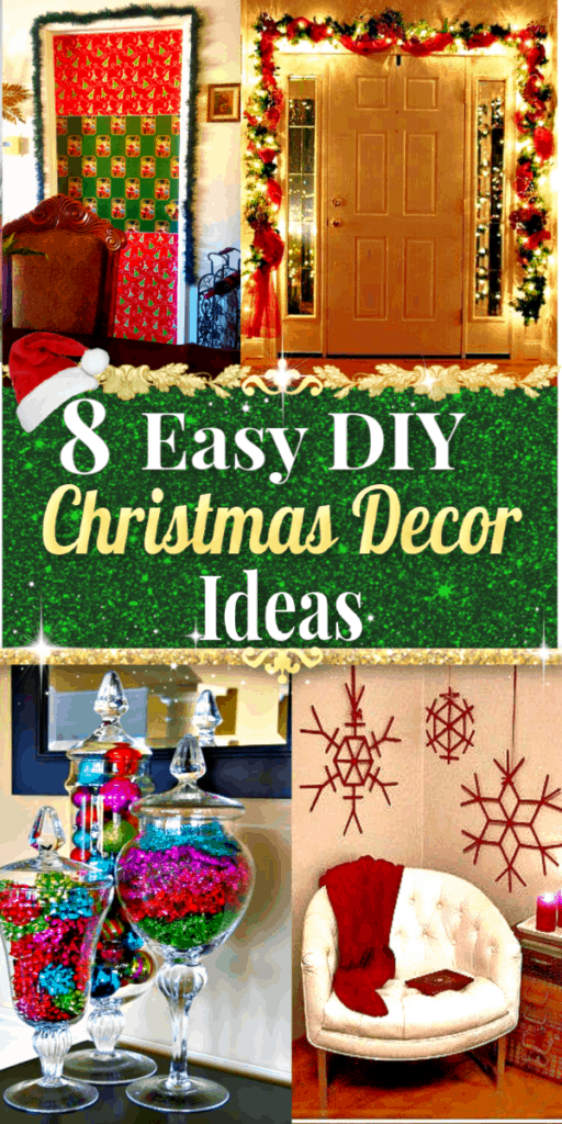 Easy DIY Christmas Decorations