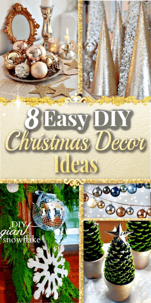 Easy DIY Christmas Decor Ideas for your home.