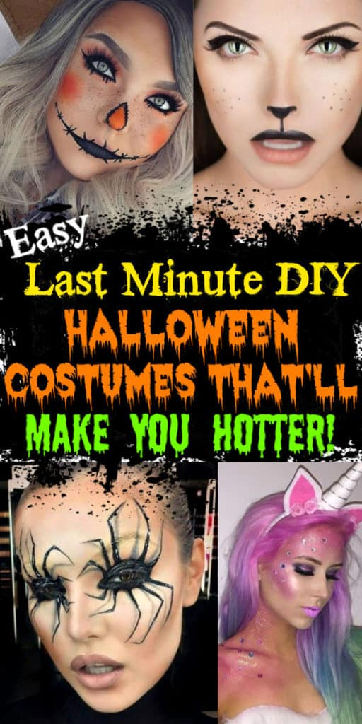 DIY Halloween costumes for women, couples, groups, and college.