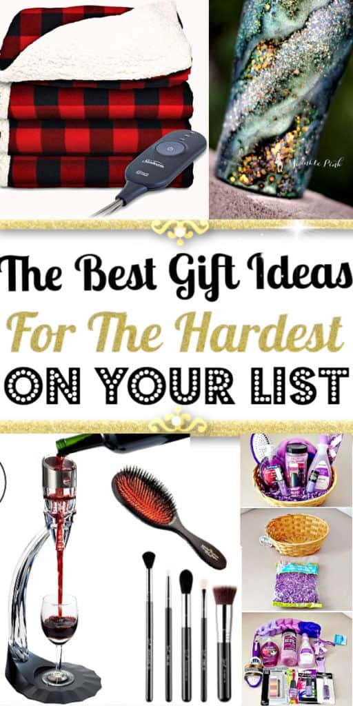 Easy gift ideas for everyone on your list and every budget. Unique gifts for him, for women, for mom, for dad, for grandparents, teachers, and kids.,