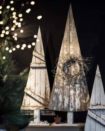 Farmhouse Pallet wood trees Christmas decoration