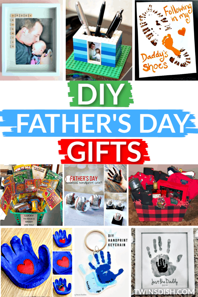 Easy DIY Father's Day gifts for Dad and Grandpa from kids and wife