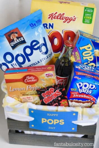 Easy DIY Father's Day gift basket ideas for dad and grandpa