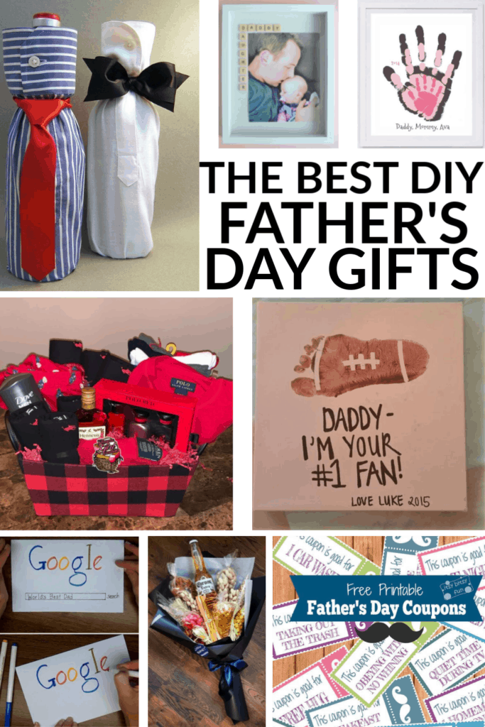 Father's Day DIY gifts for Dad and Grandpa