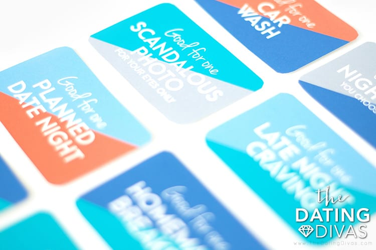 Easy DIY free printable wallet coupons Father's Day gift from wife or partner
