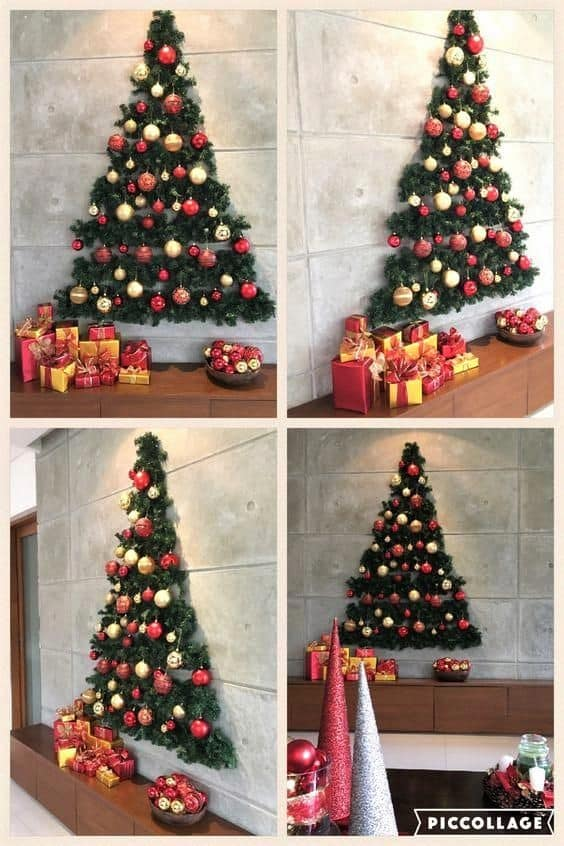 Wall Christmas Tree Decor