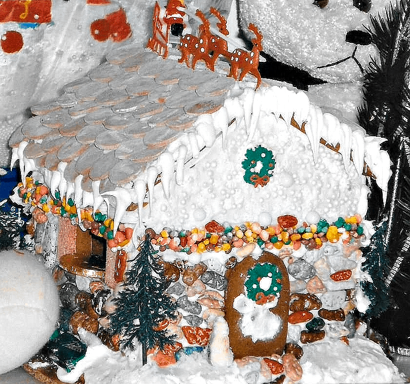 Christmas Gingerbread House Craft Ideas