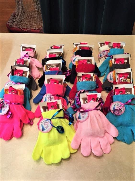 Glove Gift Basket Idea