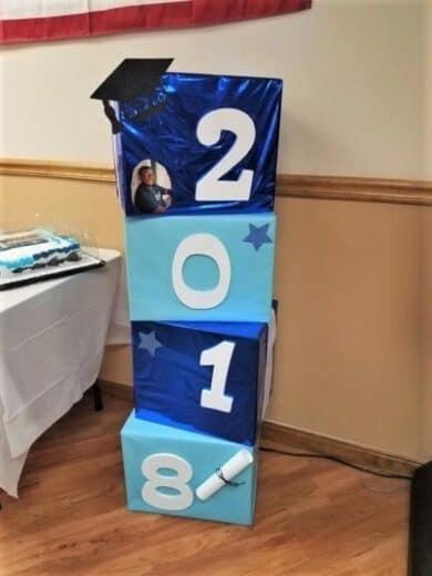 Easy DIY Graduation Party Decor Photo props