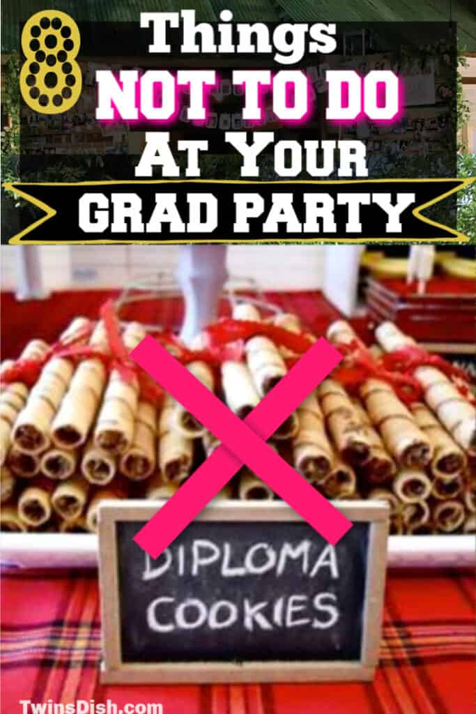 Easy DIY Graduation party decorations and food ideas. How to throwing a safe outdoor grad party in 2020 for every budget