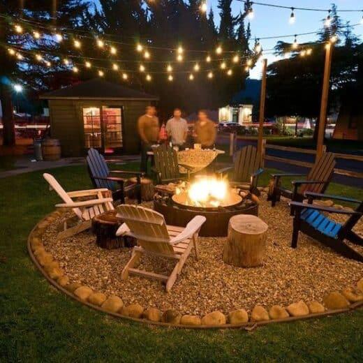 Backyard party Bonfire Yardcrashers