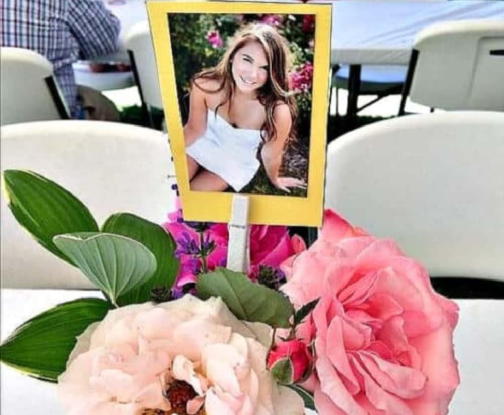 Photo Bouquet Centerpieces