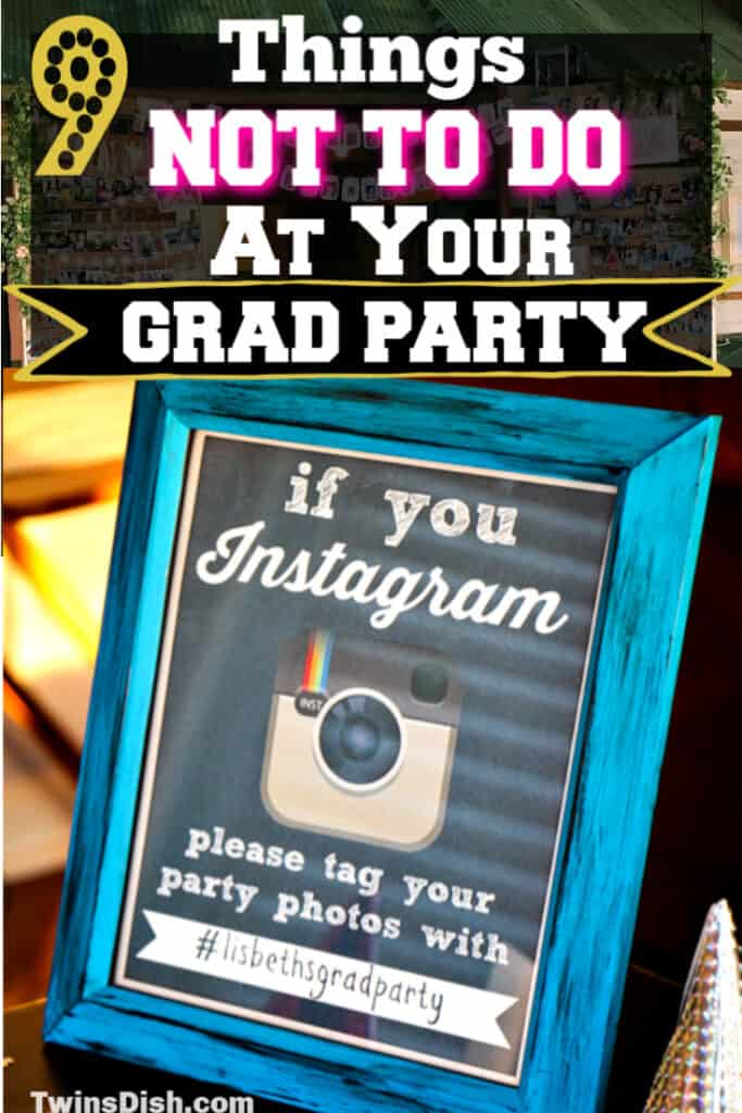 What NOT To Do At Your 2020 Graduation Party