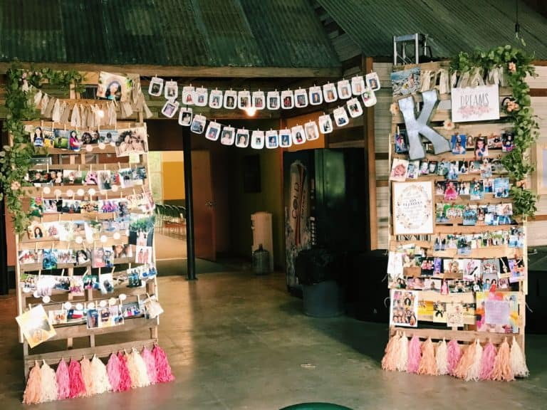 9 Of The Best Picture Display Ideas For Your Grad Party