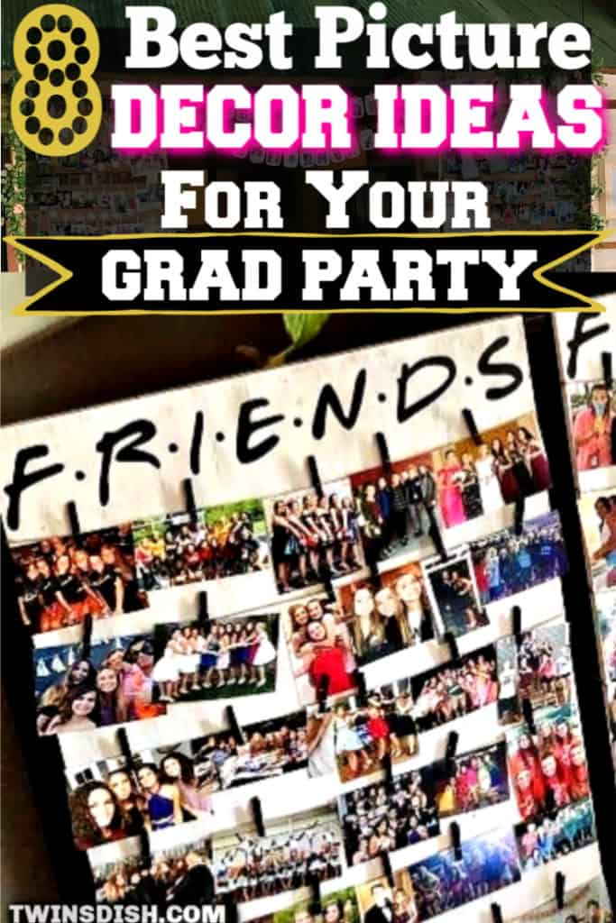 The Best DIY Graduation Party Decoration Ideas using Pictures for every area of your party.