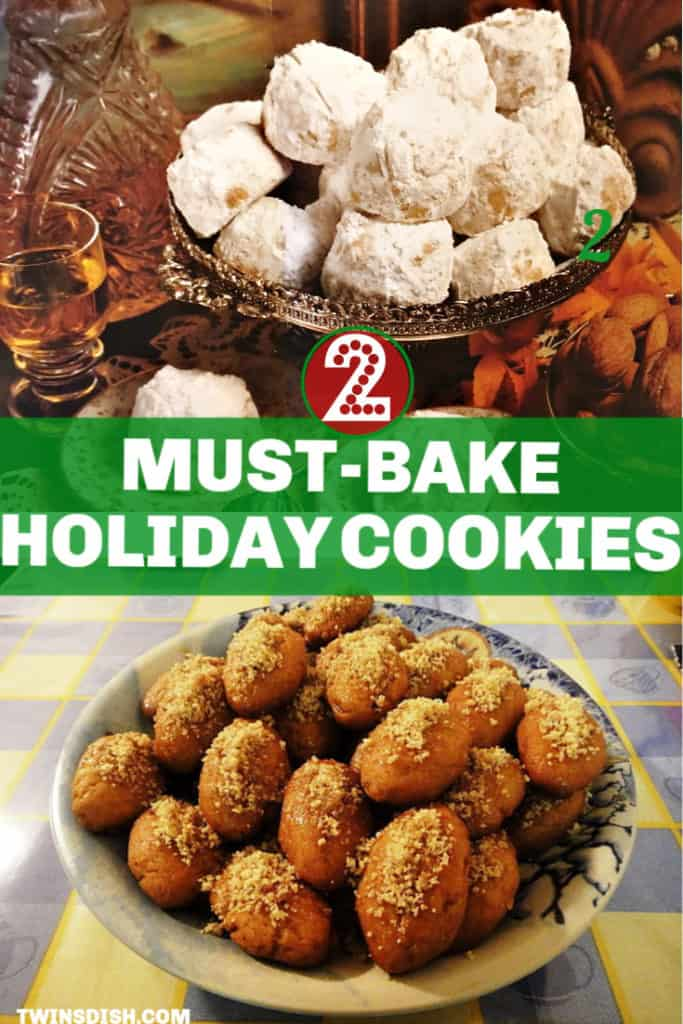 The best traditional Holiday Christmas Cookie Recipes that make great gifts. Easy.