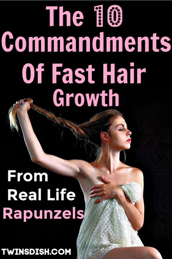 How to grow hair faster, longer, and thicker naturally.