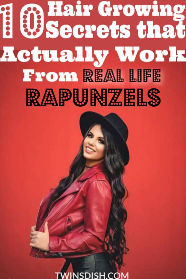The best hair growth secrets for faster thicker hair naturally by real life Rapunzels. All hair types included.
