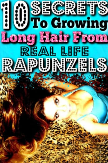 How to grow long hair. Hair growth secrets from real life Rapunzels that work.