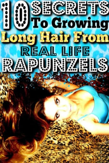 Secrets to growing long hair fast from Real Life Rapunzels.
