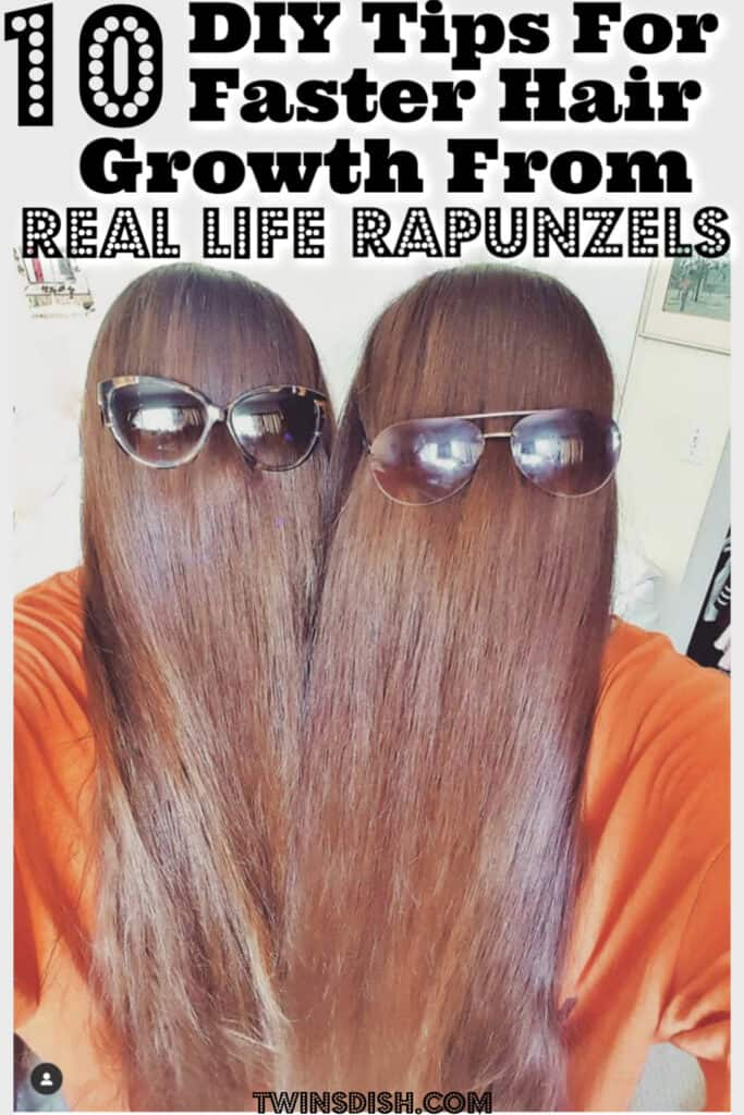DIY Faster Hair Growth Tips and Treatment that Actually Work for Extreme Hair Growth from Real Life Rapunzels #HairGrowthFaster #GrowHairFaster #GrowHairFast #GrowThickHair