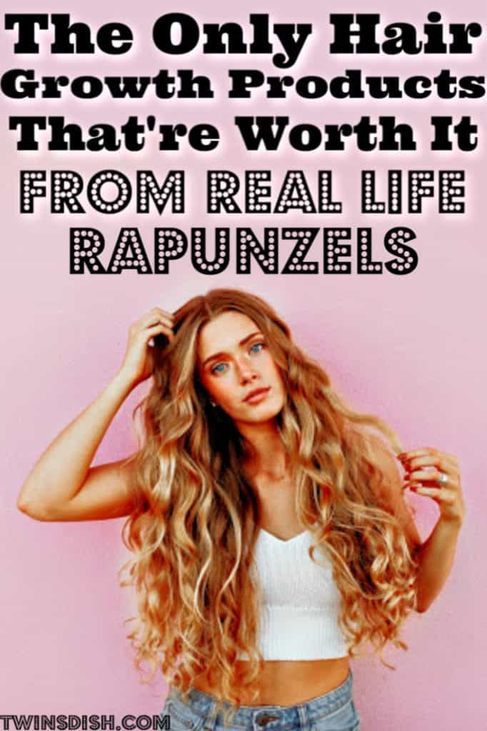 The best products for hair growth. What you need for thicker and faster hair growth by Real Life Rapunzels.