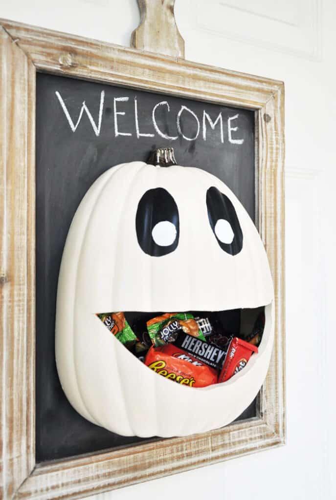 DIY Halloween Candy Door Decoration