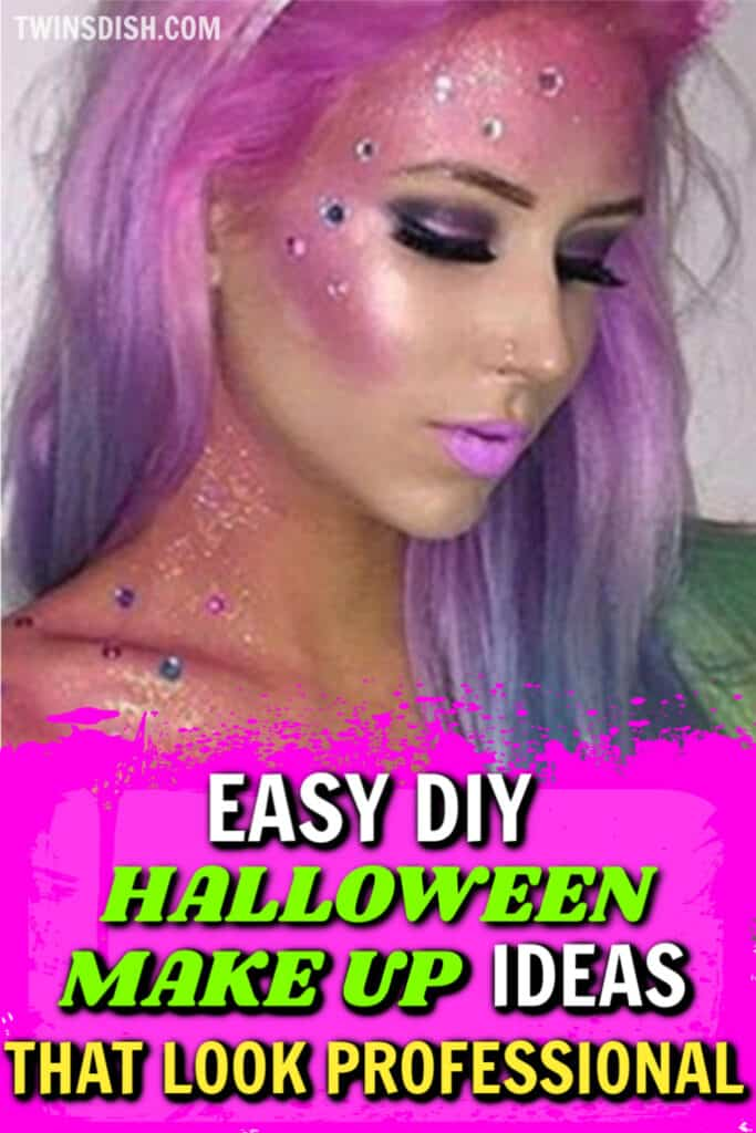 Easy DIY Halloween make up ideas that look professional.
