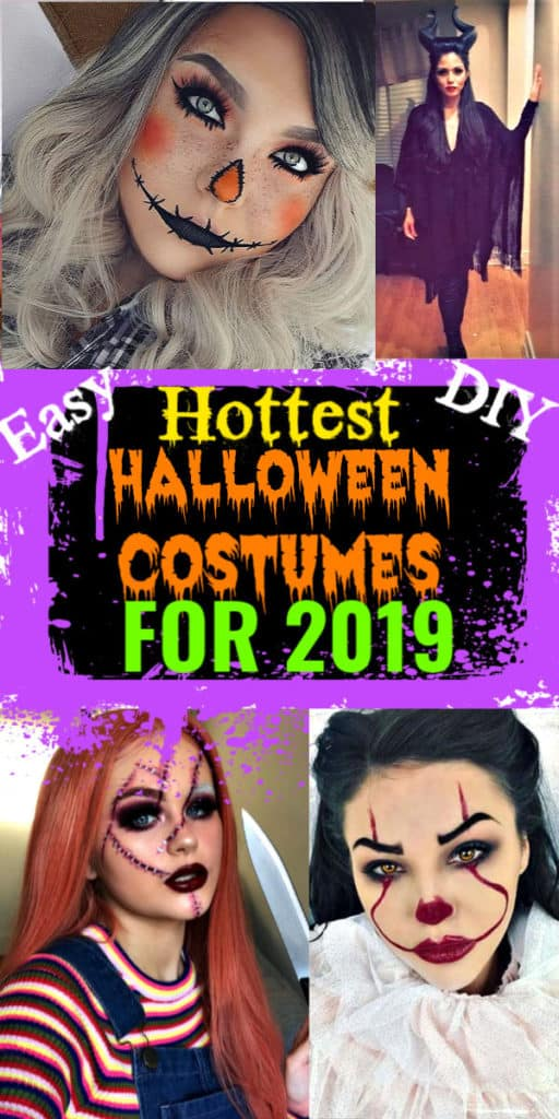 DIY Halloween costumes for women, couples, groups, and college. #HalloweenCostumes