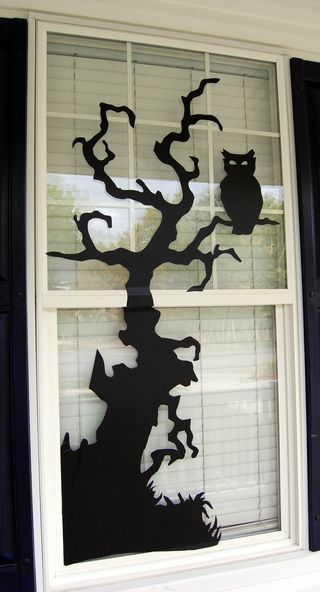 Halloween Window Decor Vinyl
