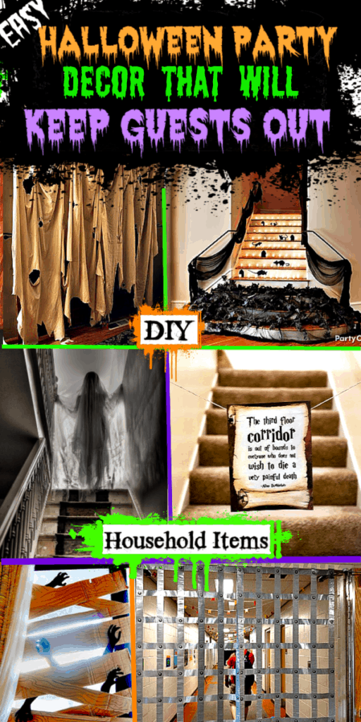 Easy Halloween Party Decor That Will Keep Guests Out