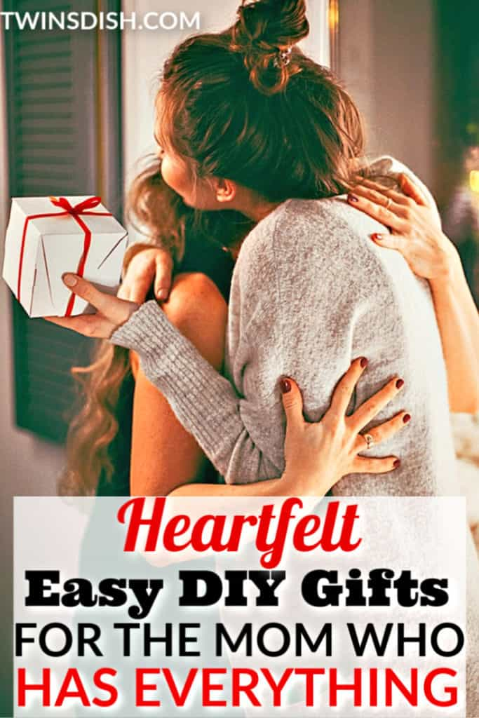 The best easy DIY gifts for Mom who has everything. Meaningful, sentimental, funny, unique, and creative custom gift ideas the pickiest women will love...even the in-laws.