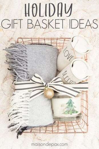 Christmas Gift Basket Idea