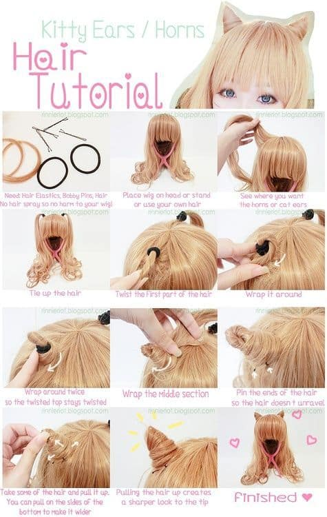 Last minute DIY Halloween Costumes Cat Ear How To