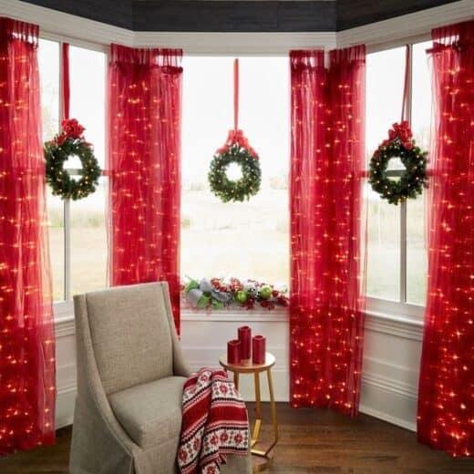 Christmas Window Decor