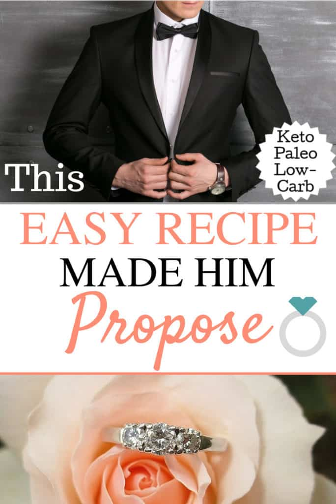 The recipe that made him propose. Great for Valentine's Day Dinner/ Recipes/ Healthy/ Valentine's Day Date Ideas/ Dinner Ideas Romantic Dinner/ For Him/ Chicken/ Paleo/ Healthy dinner Ideas