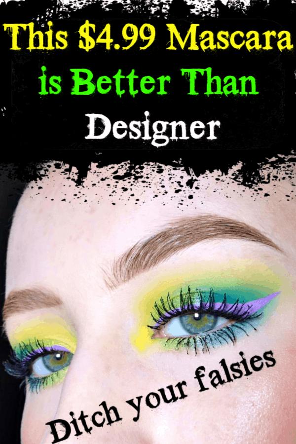 The Best Mascara is $4.99 and Better than designer / Make up / Beauty / Beauty Hacks / Hair Makeup / Beauty Makeup / Eye Makeup / Christmas Gift Idea / Eye Makeup / New Years Eve Makeup