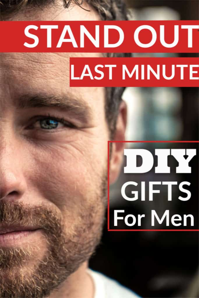 Easy DIY Last Minute Christmas Gifts for Men That Are Cheap. Includes 5 senses gift ideas for him and can also be used for family, grandparents, friends, and even kids
