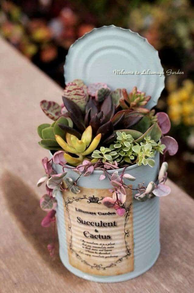 Easy DIY rustic Mother's Day planters