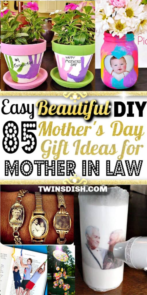 DIY Mother's Day gift ideas for Mother In Law