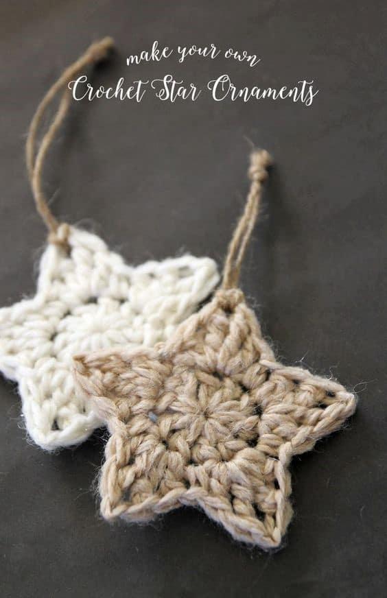 DIY Crochet Christmas Tree Ornament
