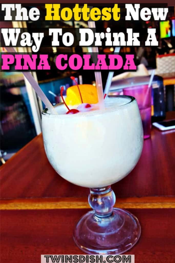 The best Pina Colada summer drink recipe for your summer party.