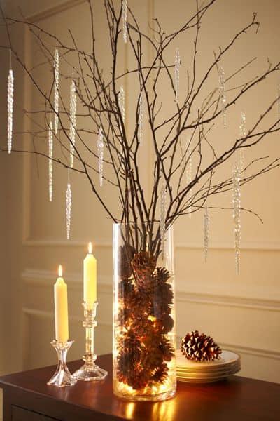 Easy DIY Pine Cone Christmas Decor Idea