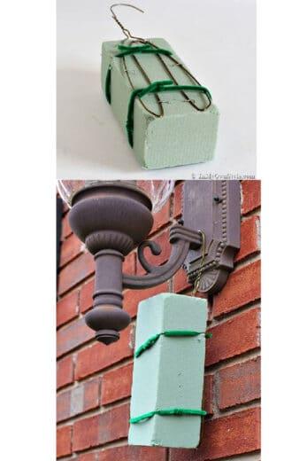 Easy DIY Christmas Decor for Outdoor Lights