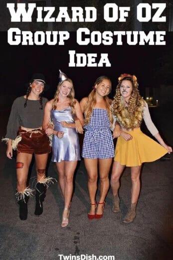 Easy Halloween Group Costume Ideas