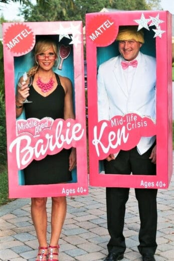 DIY Halloween Couples Costume Ideas For Middle Aged People