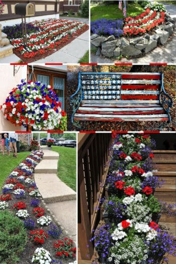 Best Easy 4th of July Decoration Ideas for the Garden and Porch