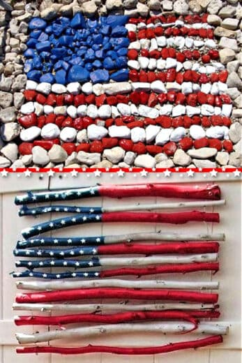 Easy Cheap 4th of July Decor Ideas and Crafts