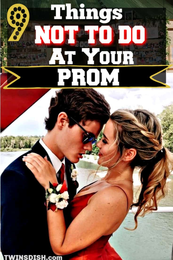 Prom mistakes to avoid. Dresses, make up, shoes, pictures, and dates. A Checklist of what will ruin Prom.