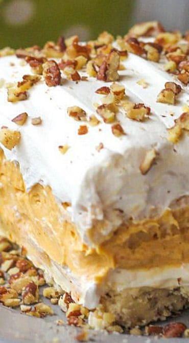 Pumpkin Delight Thanksgiving Dessert Recipe